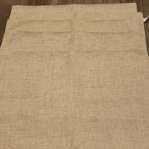 Other - Set of 5 Gold/ Beige Woven Placemats by Pier 1